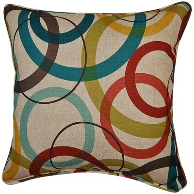 Pinwheel Bohemian Throw Pillow