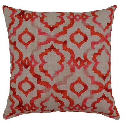 Goodvibes Cotton Throw Pillow Color: Fiesta