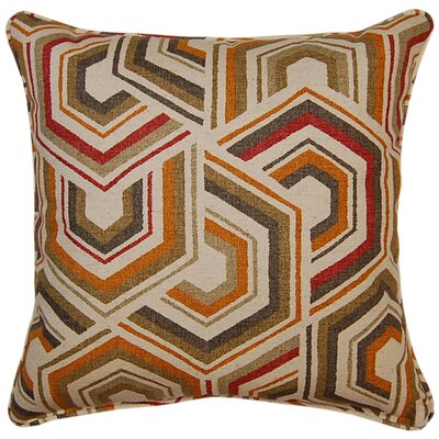 Canaan Throw Pillow Color: Sierra