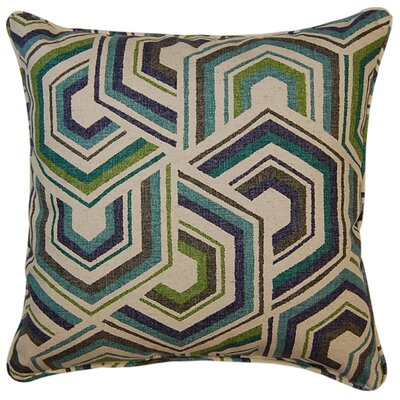 Canaan Throw Pillow Color: Meadow