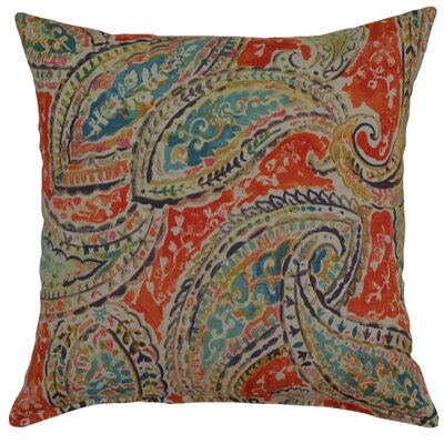 Bright and Lively Cotton Throw Pillow Color: Nectar