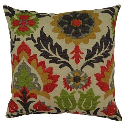 Santa Maria Throw Pillow Color: Jewel