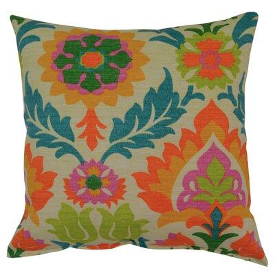 Santa Maria Throw Pillow Color: Mimosa