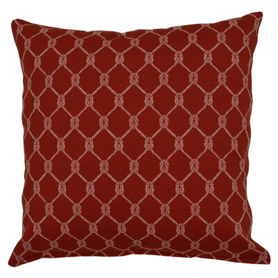 Square Knot Throw Pillow