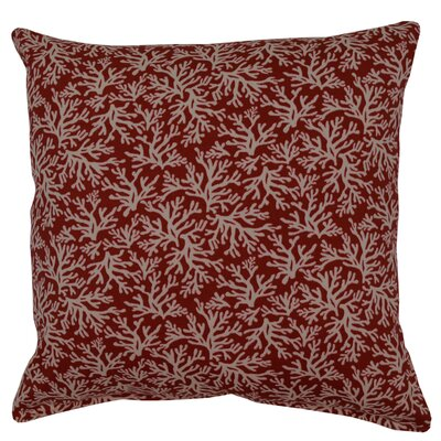 Coral Outdoor Throw Pillow