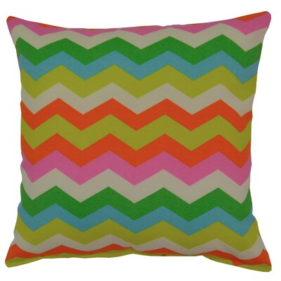 Panama Wave Outdoor Throw Pillow Color: Mimosa