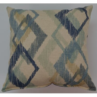 Hampstead Throw Pillow Color: Denim