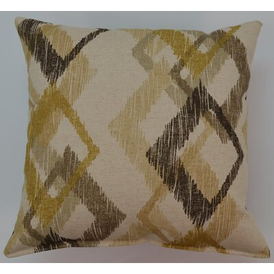 Hampstead Throw Pillow Color: Graystone