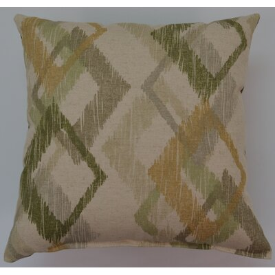 Hampstead Throw Pillow Color: Patina