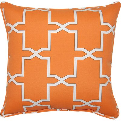 Emsworth Throw Pillow Color: Pumpkin