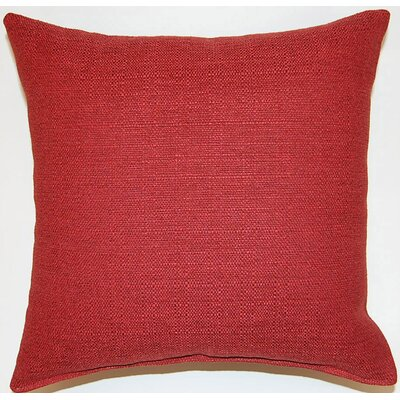 Grandstand Throw Pillow Color: Cherry
