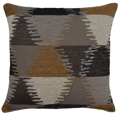 Sagamore Throw Pillow Color: Black