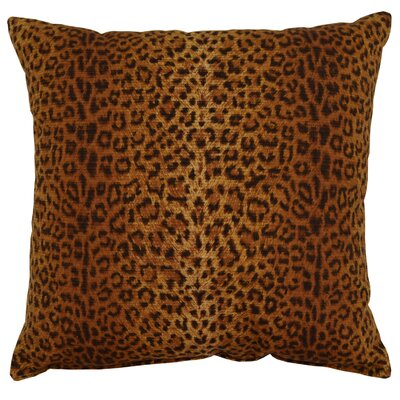 Cheetah 100% Cotton Throw Pillow