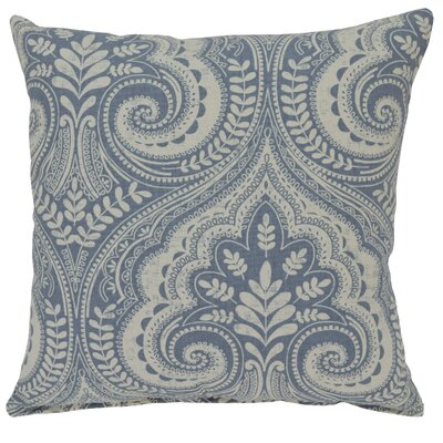 Wheeling Cotton Throw Pillow Color: Blue Jay