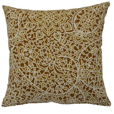 Stella Cotton Throw Pillow Color: Chestnut