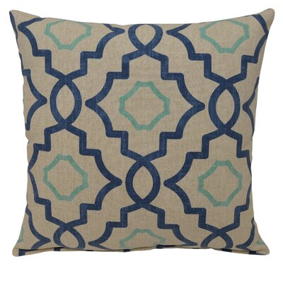 Talbot Cotton Throw Pillow Color: Harbor
