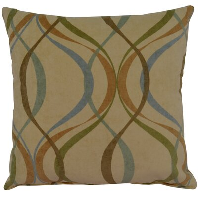 Savi Polyester Blend Throw Pillow
