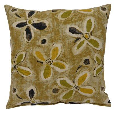 Alhambra Linen Throw Pillow Color: Graphite