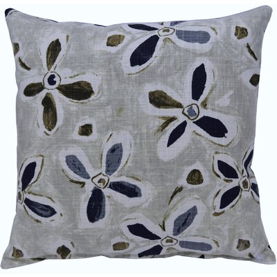 Alhambra Linen Throw Pillow Color: Teal
