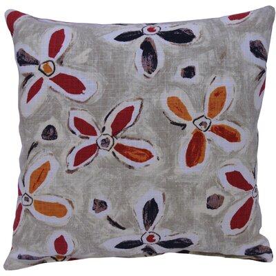 Alhambra Linen Throw Pillow Color: Twilight