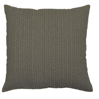 Basketweave 100% Cotton Throw Pillow Color: Beige