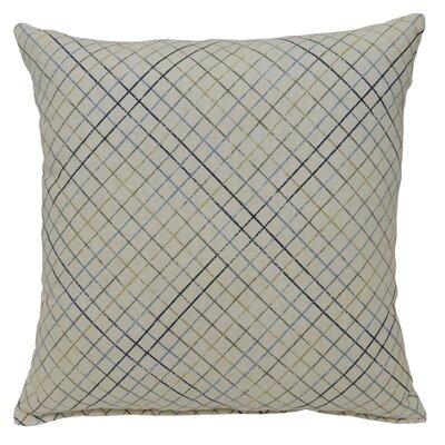 Riverhead 100% Cotton Throw Pillow Color: Ocean