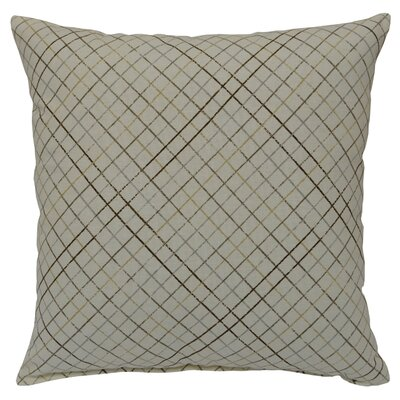 Riverhead 100% Cotton Throw Pillow Color: Dove