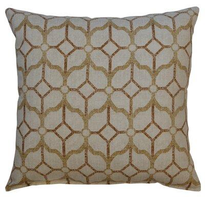 Spencerville 100% Cotton Throw Pillow Color: Chestnut