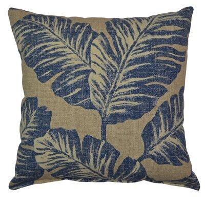 Vania Throw Pillow Color: Blue