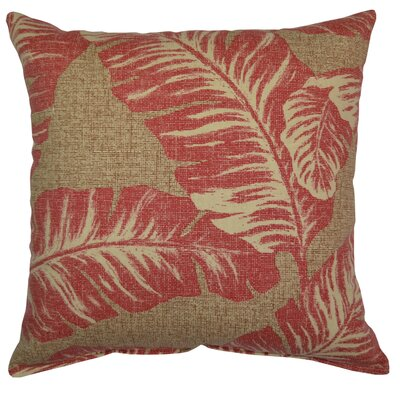Vania Throw Pillow Color: Lava