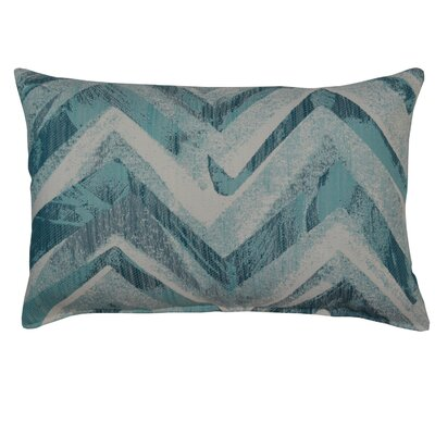 Dominguez 100% Cotton Throw Pillow Color: Capri