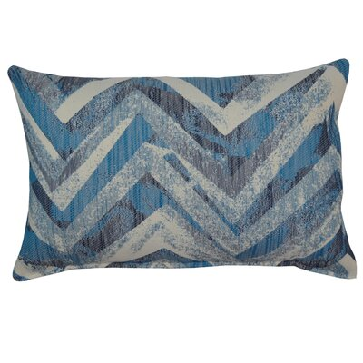 Dominguez 100% Cotton Throw Pillow Color: Cobalt