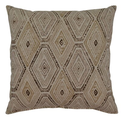 Dacey 100% Cotton Throw Pillow Color: Sahara