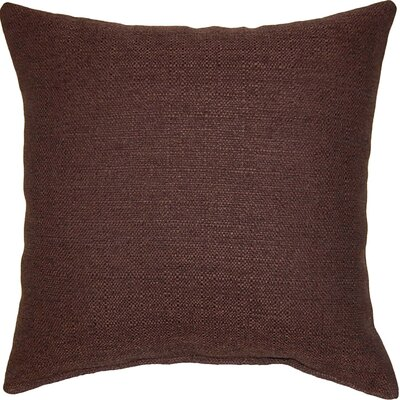 Grandstand Throw Pillow Color: Chocolate