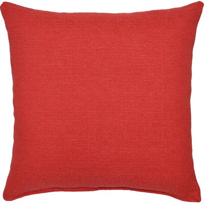 Grandstand Throw Pillow Color: Coral