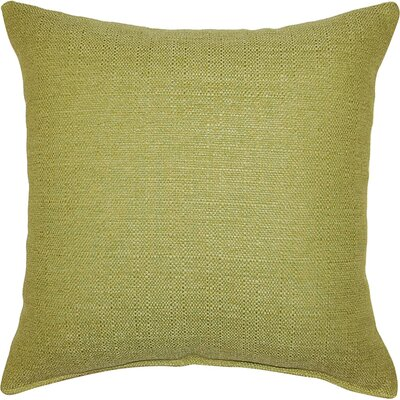 Grandstand Throw Pillow Color: Apple - Green