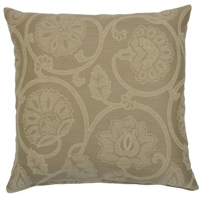 Harbison Scroll Linen Throw Pillow