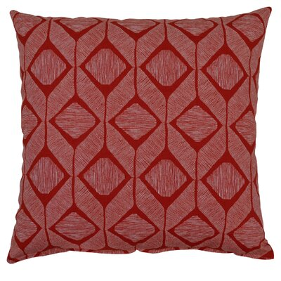 Mobley Cotton Throw Pillow Color: Apple