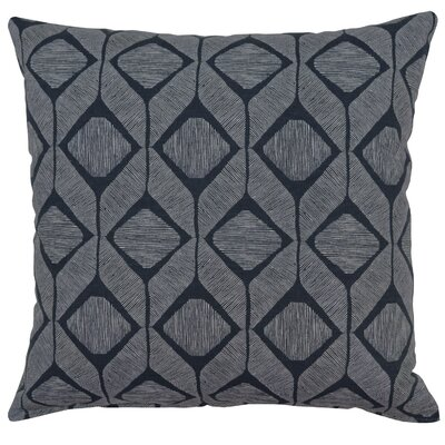 Mobley Cotton Throw Pillow Color: Graphite