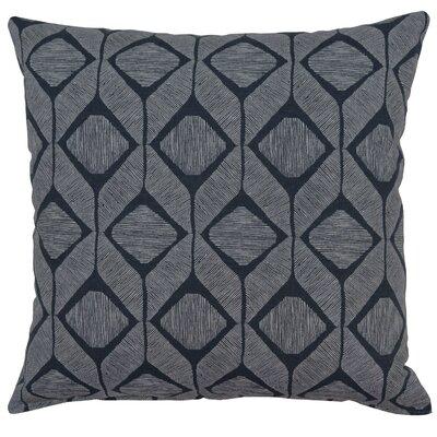 Mobley Cotton Throw Pillow Color: Graphite