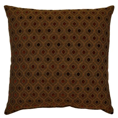 Audwine Throw Pillow Color: Cayenne