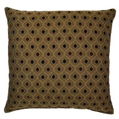 Audwine Throw Pillow Color: Pepper