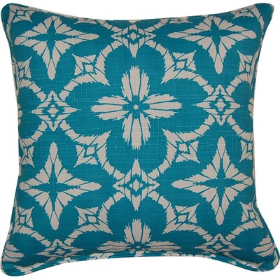 Aspidoras Throw Pillow Color: Teal