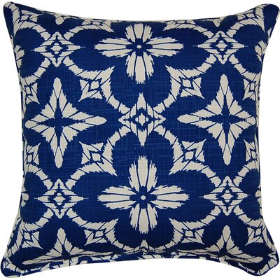 Aspidoras Throw Pillow Color: Cobalt