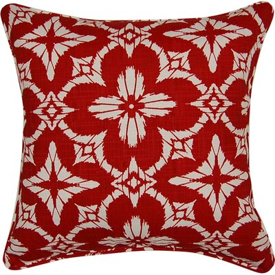 Aspidoras Throw Pillow Color: Red