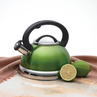 CREATIVE HOME Alexa 3-qt. Whistling Tea Kettle - Color: Metallic Chartreuse at Sears.com