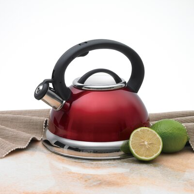 Creative Home Alexa 3-qt. Whistling Tea Kettle - Color: Metallic Cranberry at Sears.com