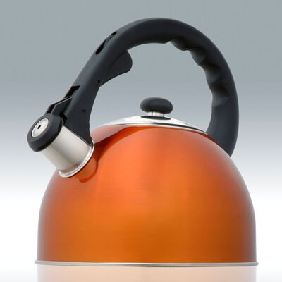 CREATIVE HOME Satin Splendor 2.8-qt. Whistle Tea Kettle - Color: Metallic Bronze at Sears.com