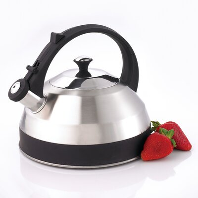 CREATIVE HOME Steppes 2.8-qt. Whistle Tea Kettle - Color: Black at Sears.com