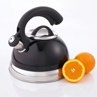 CREATIVE HOME Symphony 2.6-qt. Whistle Tea Kettle - Color: Black at Sears.com